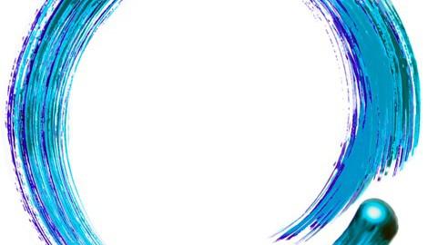 Qigong Logo Blue